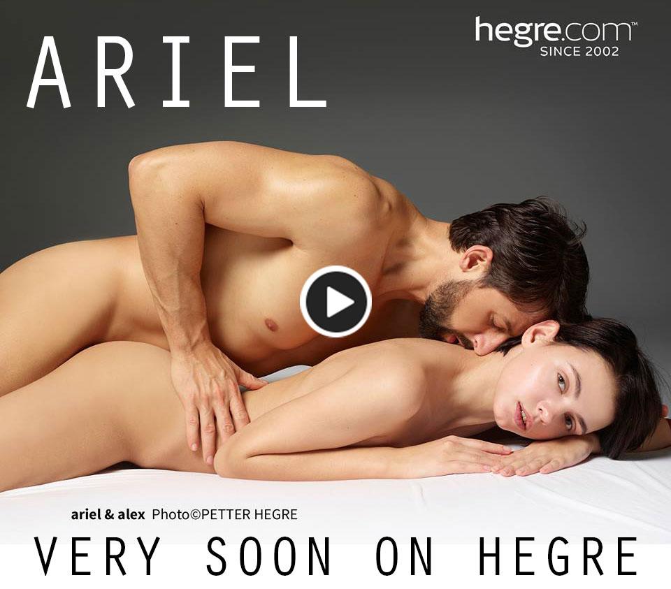 Ariel is a new model on Hegre Art