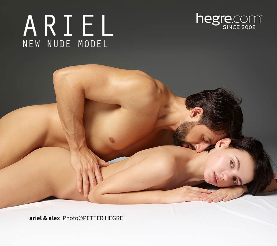 Ariel with Alex in a nude massage