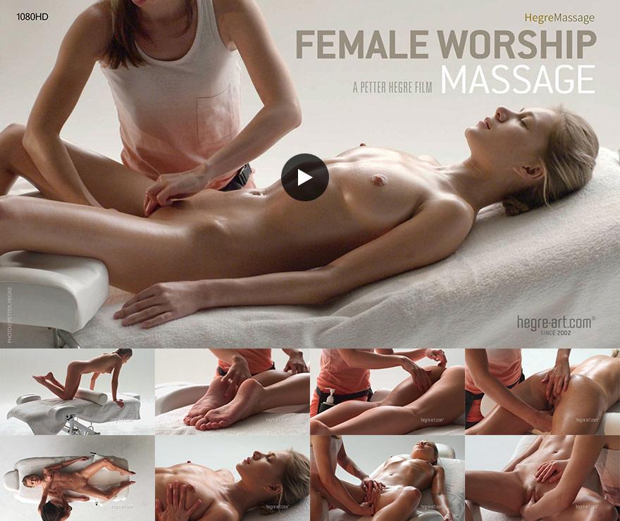 Darina L Hegre in Female Worship Massage