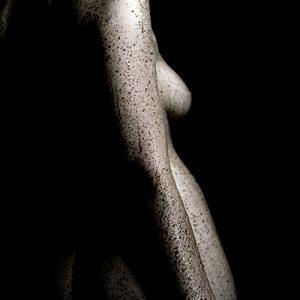 Female nude body