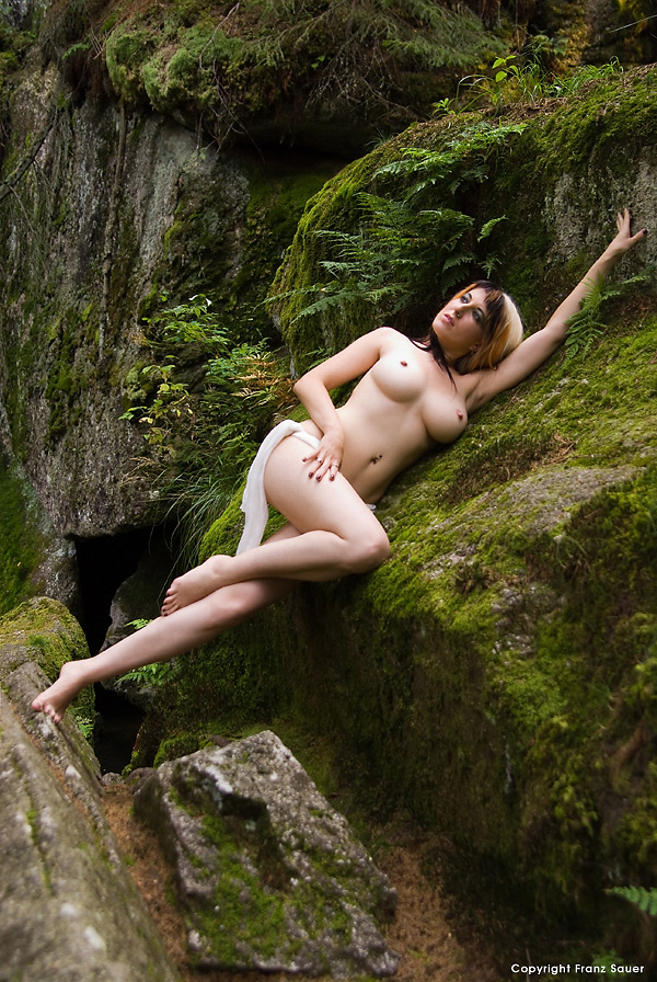 Nude art outdoor have missed the