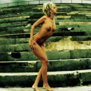 Art nude photography female body