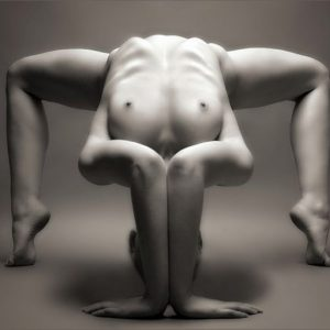 Yoga nude in Fine Art Photography