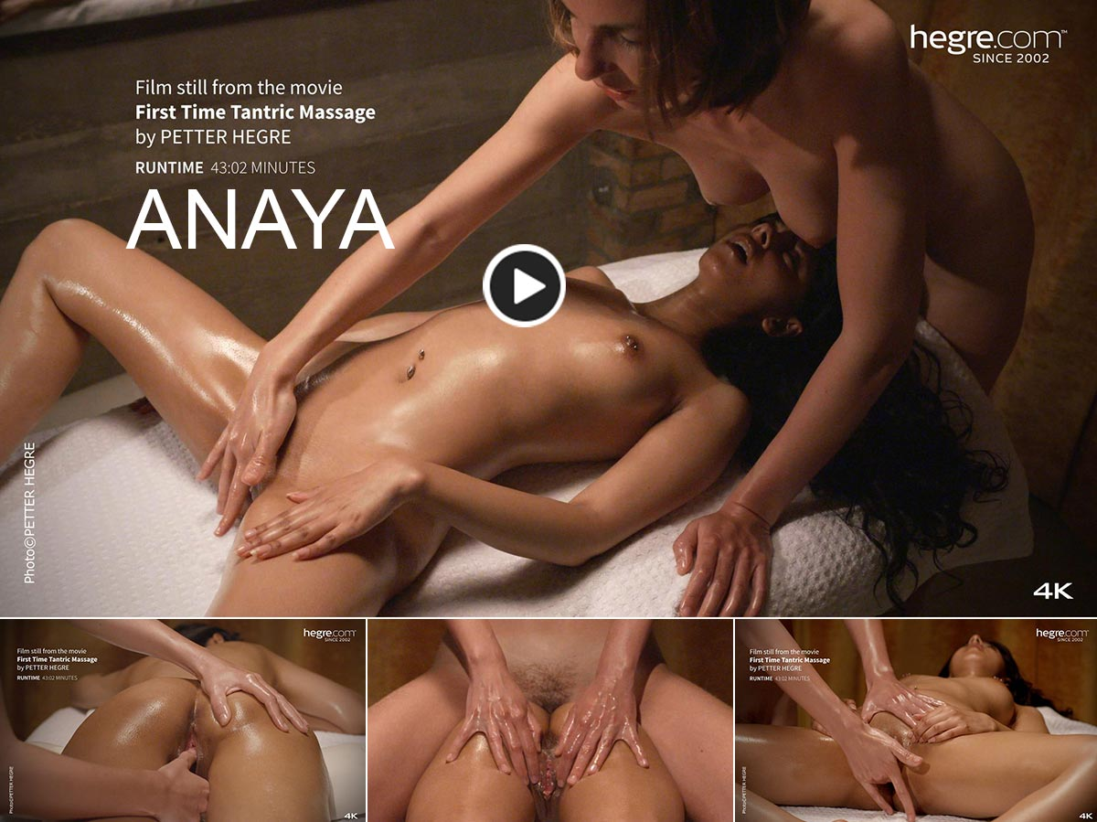 Anaya Hegre first time tantric massage