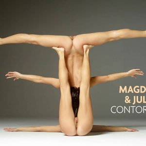 Julietta and Magdalena contorsionnist Hegre Art
