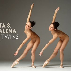 Julietta and Magdalena twins Hegre Art