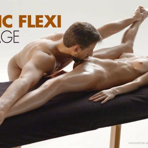 alex and Magdalena flexi massage Hegre Art