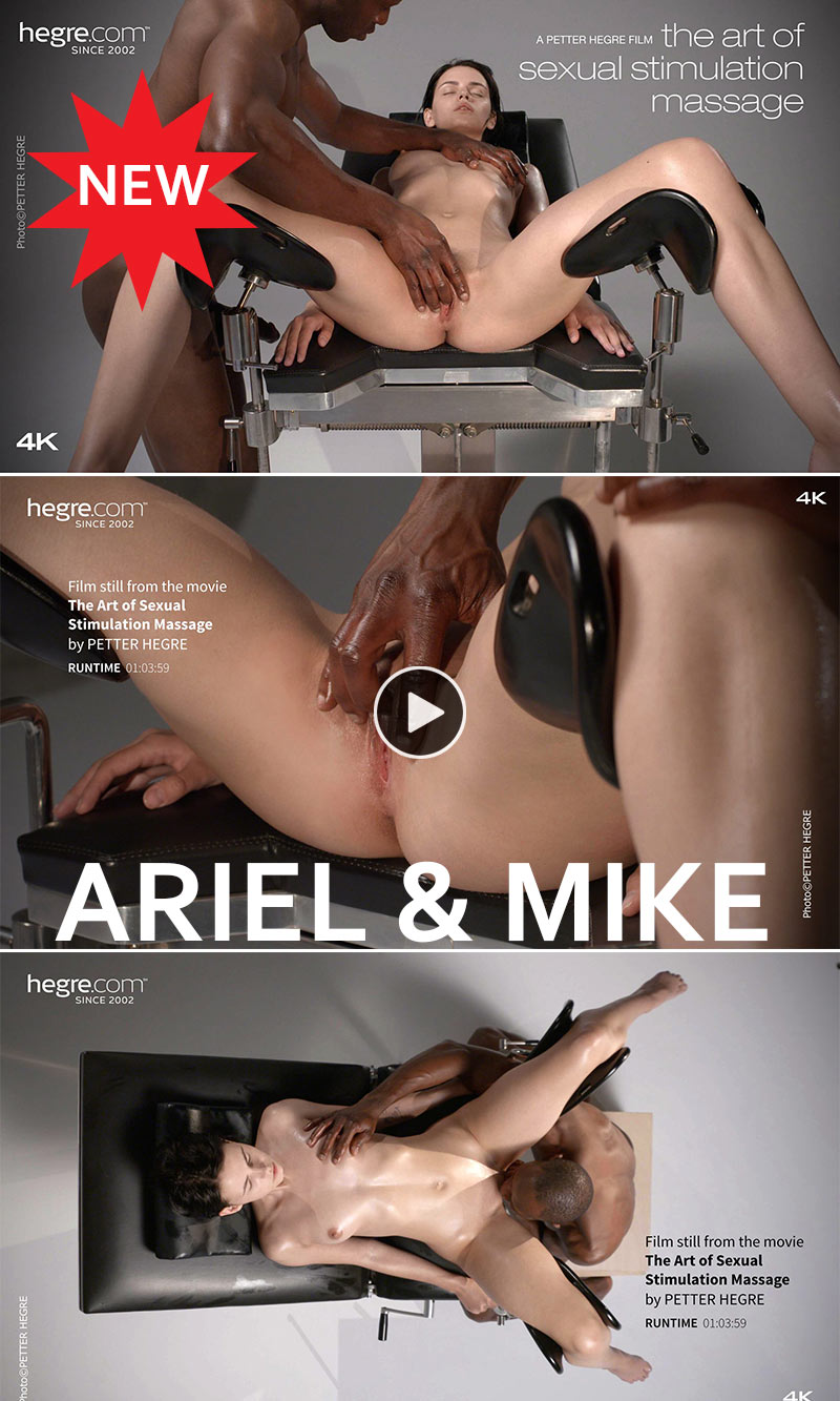 Ariel and Mike by Petter Hegre Videos massage