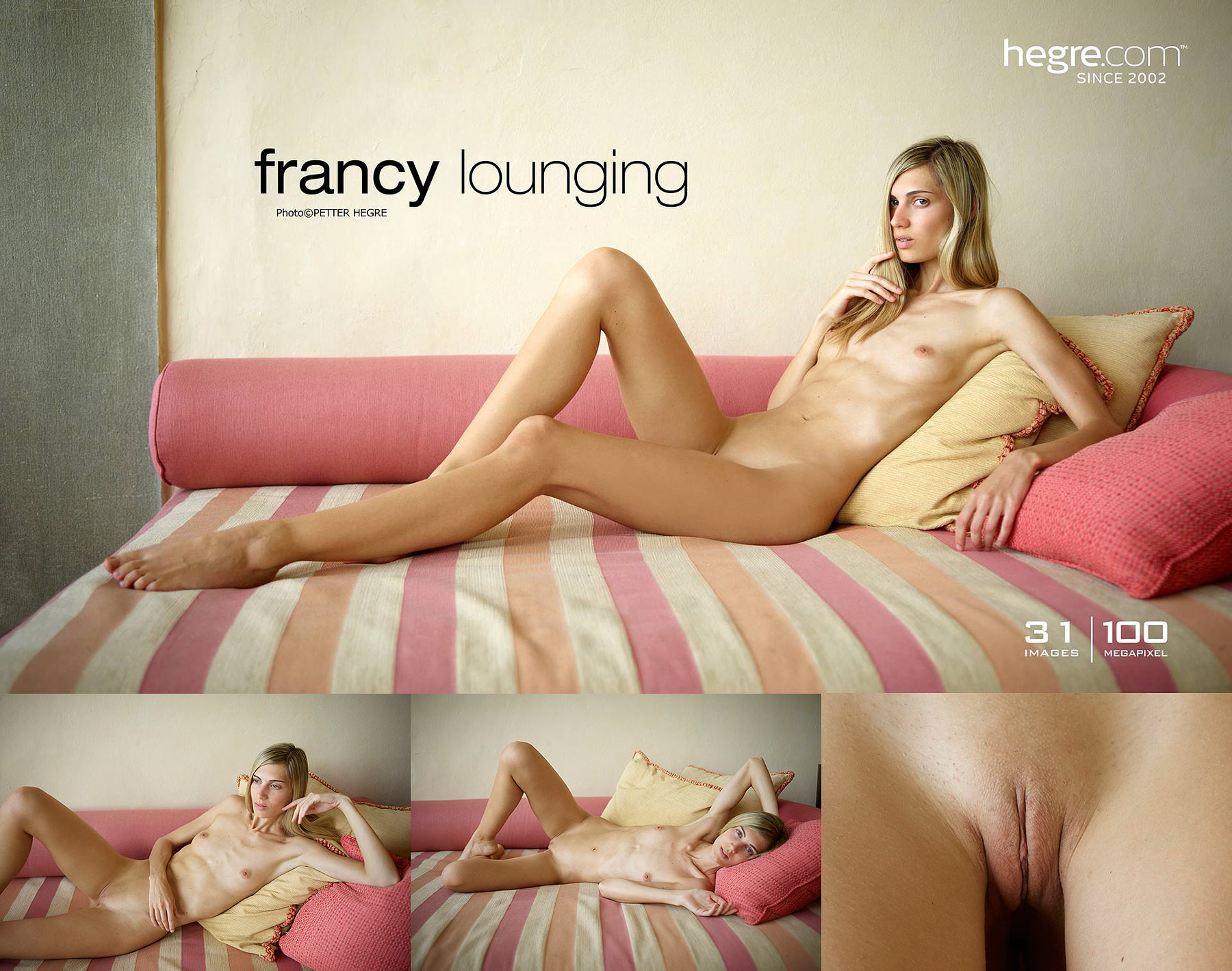 Francy Hegre Lounging