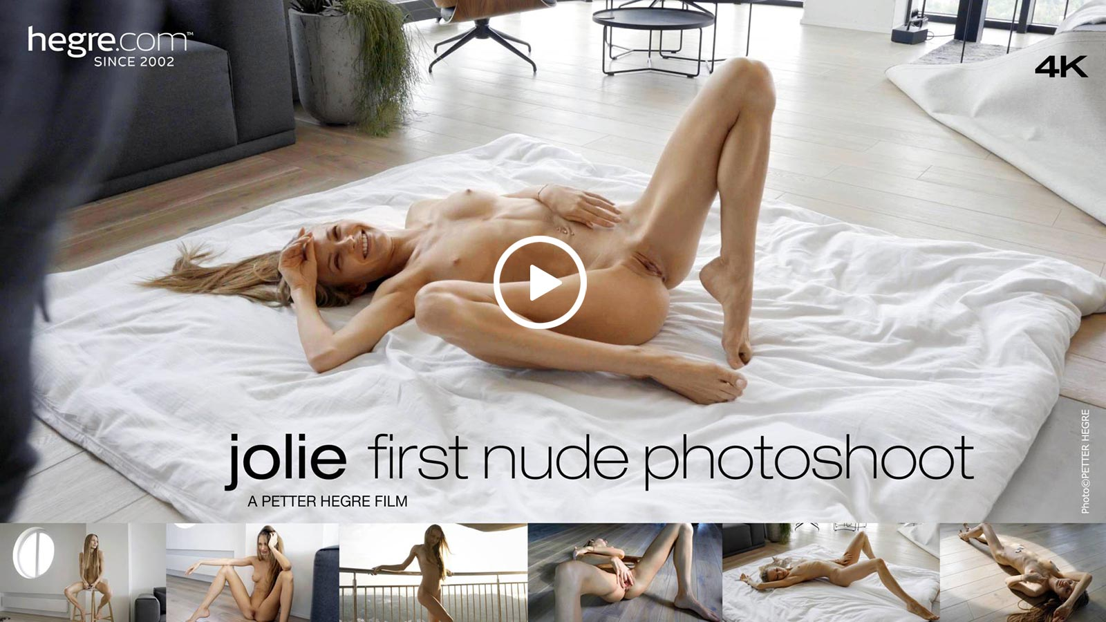 Jolie Hegre First Nude Photoshoot