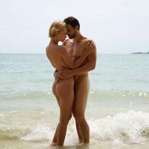 Ariel Hegre sex on the beach
