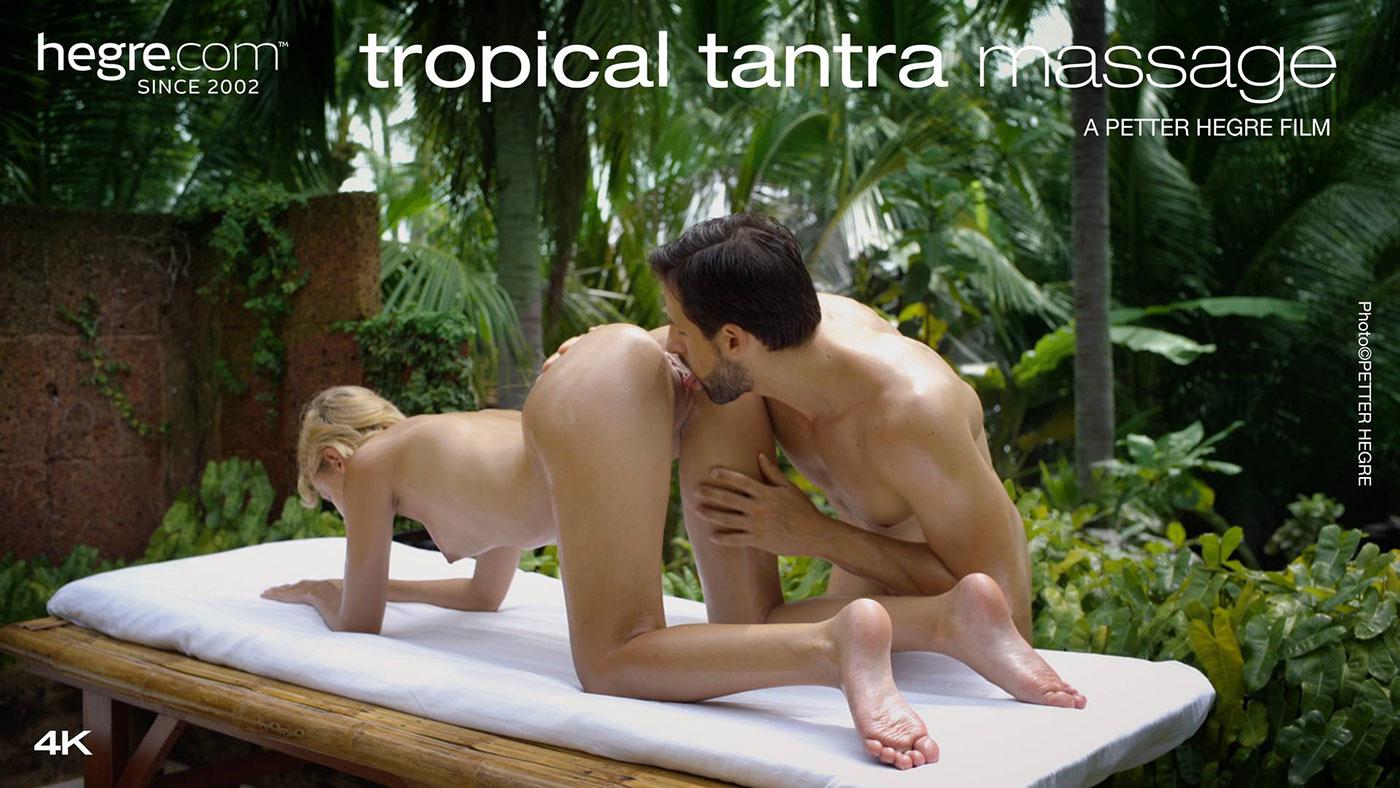 Ariel & Alex In Tropical Tantra Massage