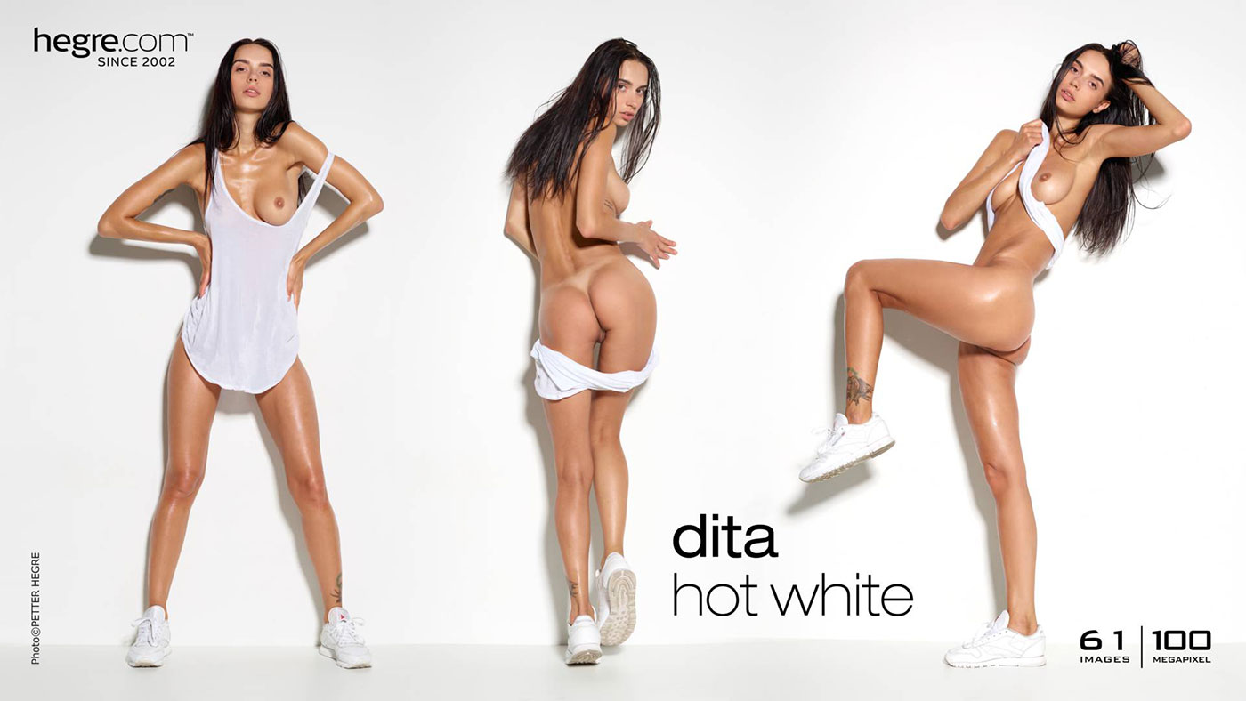 Dita Hegre Hot White
