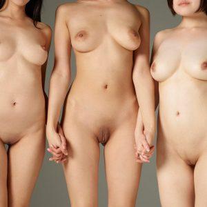 Hinaco Sayoko Yun Tokyo Threesome by Petter Hegre