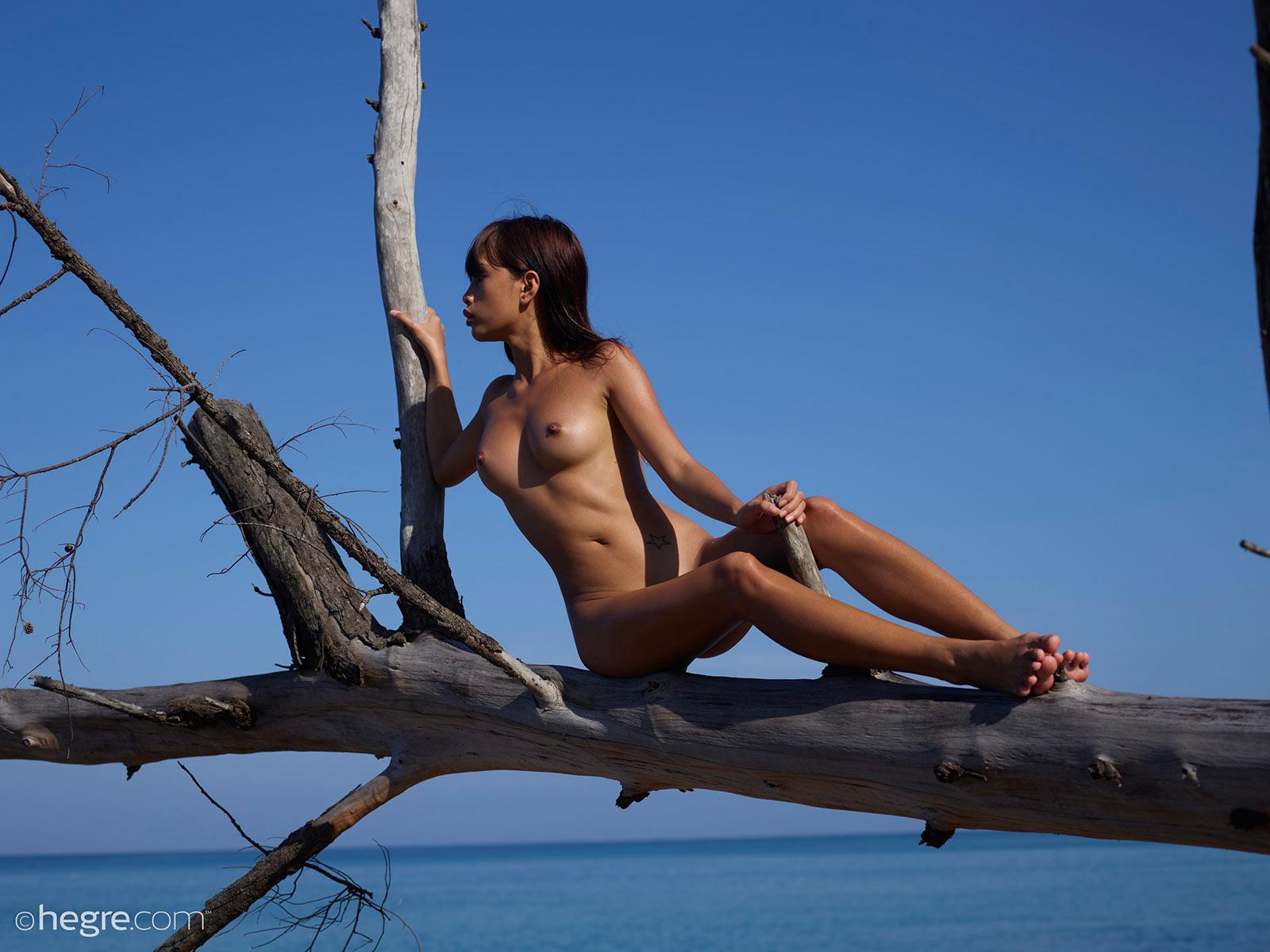 Crazy nude art